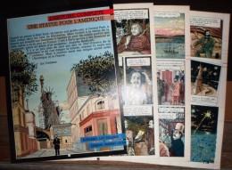 HISTOIRE COMPLETE UNE STATUE POUR L AMERIQUE LA STATUE DE LA LIBERTE PAR AUGUSTE BARTHOLDI DE GIOUX - Vieux Papiers