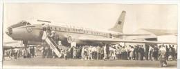 """Photo Ancienne  """"Le Tupolev 104-B Au Salon Du Bourget""""  1959 - Aviation"""