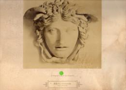 PHOTOGRAPHIE ORIGINALE   MEDUSA  Rondanini - Persone Identificate