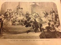 1867 - LE JOUR DES ROIS - F�VE - GUERRE AU PARAGUAY - PANORAMA DU PORT DU HAVRE - BATEAU DE SAUVETAGE AMERICAIN