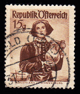 AUSTRIA - Scott #523 Burgenland (*) / Used Stamp - 1945-60 Used
