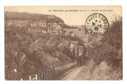 Cp, 76, Veules-les-Roses, Caves St-Nicolas, Voyagée - Veules Les Roses