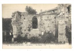 Cp, 76, Veules-les-Roses, Les Ruines - Veules Les Roses