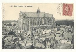 cp, 02, St-Quentin, La Basilique, voyag�e 1905