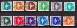 India 1957 New Currency Issues USED - 1950-59 Republic