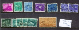 India 1953 Five Year Plan  Issues USED - 1950-59 Republic