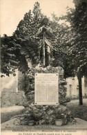 CPA GANDELU. monument pour la m�moire.