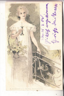 MODE - Kleidung, Romantik, 1900, Verlag: Kimmelstiel-Hamburg - Mode