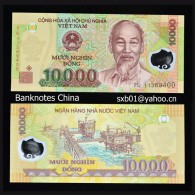 Vietnam 10000 Dong   POLYMER NOTE P-119 UNC MONEY CURRENCY - Vietnam