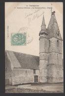 DF / 28 EURE ET LOIR / LA CHAUSSÉE-D'IVRY / L'EGLISE / CIRCULÉE EN 1904 - Autres Communes