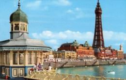 Postcard - Blackpool North Pier & Tower, Lancashire. BP3/4 - Blackpool
