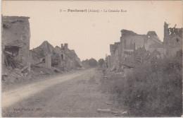 (R) AISNE; PONTAVERT ;la grande rue