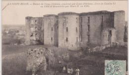 (R) AISNE;LA FERTE-MILLON ; ruines du vieux chateau , construit par LOUIS D� ORLEANS , fr�re de CHARLES VI