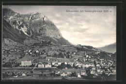 AK Schwanden, Ortschaft Mit Vorderglärnisch - GL Glaris