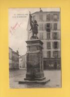 * CPA..dépt 93..NOISY Le SEC  :  Statue De Jeanne D'Arc..n°18 : Voir Les 2 Scans - Noisy Le Sec