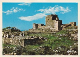 C P M---ASIE---LIBAN----LEBANON--BYBLOS---l´obelisque Et La Citadelle---voir 2 Scans - Lebanon