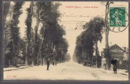 EVREUX . Avenue De La Gare . Hôtel Du Commerce . Café . - Evreux