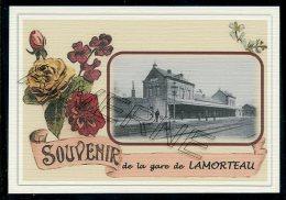 LAMORTEAU ..... Gare... Souvenir  Creation Moderne Série Limitée Et Numerotée 1 à 10 ... N° 3/10 - Rouvroy