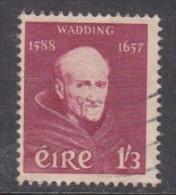 Ireland, 1957, Father Wadding, 300th Anniversay, 1/3, Used - 1949-... Republic Of Ireland