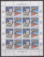 Europa Cept 1988 Greece 2v In Sheetlet ** Mnh (F3206) - Europa-CEPT