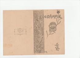 - Beau Programme Littéraire Et Musical, école FENELON - 13 Février 1893  - 008 - Programmes
