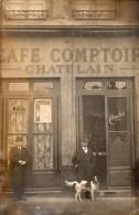 CAFE  COMPTOIR  CHATELAIN  (peut Etre Lyon ,route De Vienne) - A Identifier