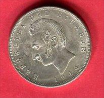 5 SUCRES 1944 ( KM 79 )  TTB +  33 - Equateur