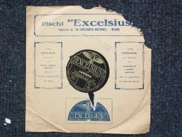 EXCELSIUS Da LA FONOGRAFIA NAZIONALE -  CARMEN - D.MASTRONARDI ORCHESTRA SCALA DI MILANO - 78 Rpm - Schellackplatten