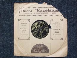 EXCELSIUS Da LA FONOGRAFIA NAZIONALE - TOSCA - F.FORESTA   ORCHESTRA SCALA DI MILANO - 78 Rpm - Schellackplatten
