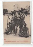 CONGO FRANÇAIS Et Dépendances - Guerriers Oudombo - Région De L'Ogoué - Très Bon état - Congo Francese - Altri