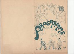 - Beau Programme Littéraire Et Musical Ecole FENELON - 1895 - 015 - Programmes