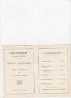 - Beau Programme Compagnie Transatlantique ( FRENCH LINE ) 1924 - 017 - Programmes