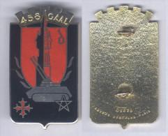 Insigne Du 458e Groupe D'Artillerie Antiaérienne Légère - Esercito