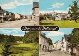 BULLANGE-BULLINGEN- Multivues-pompe à Essence Gulf-publicité Tabac Taf - Büllingen