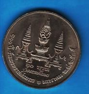 THAILANDE 10 BAHT 2535 (1992) Centenaire De Mahitorn   Y#249 - Thaïlande