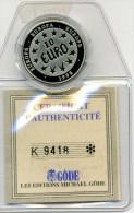 MONNAIE 10 EUROS-1998-EUROPE-AVEC CERTIFICAT D'AUTHENTICITE-A VOIR- - France