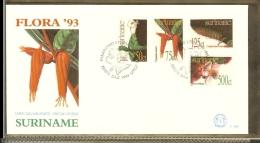 1993 - Rep. Surinam FDC E164 - Flora 93 - Medicinal Plants in Surinam