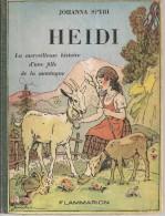 SPYRI - HEIDI -   FLAMMARION - 1950 - Books, Magazines, Comics