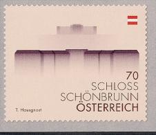2014.03.19 Österreich Mi 3123  **MNH  Folienmarke  Schloss Schönbrun - 2011-... Nuevos & Fijasellos