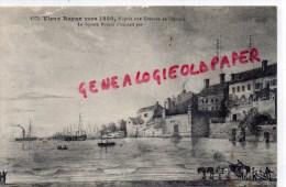 17 - VIEUX ROYAN VERS 1850 D' APRES UNE GRAVURE DE L' EPOQUE - LE SQUARE BOTTON N' EXISTAIT PAS - Royan