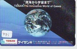 Télécarte Japon ESPACE * Phonecard JAPAN * SPACE SHUTTLE (775) * Rocket * LAUNCHING * SPACE WORLD * Rakete * - Ruimtevaart