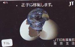 Télécarte Japon ESPACE * Phonecard JAPAN * SPACE SHUTTLE (776) * Rocket * LAUNCHING * SPACE WORLD * Rakete * - Ruimtevaart