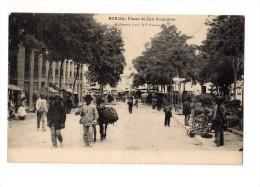 1922 TARJETA POSTAL USADA SIN FRANQUEO DIRIGIDA AL SR. PRESIDENTE DE LA JUNTA DE JEFES DEL CUERPO DE CORREOS - 1889-1931 Reino: Alfonso XIII