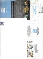 Polen Warschau Grandhotel Reklame  Briefhoofd, Envellop & Documentatie Postkaart - Etiquetas De Hotel