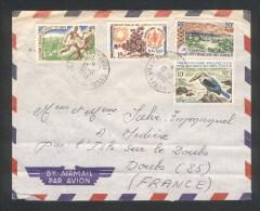 Lettre De Djibouti Pour La France  - Territoire Frcs Des Affars Et Issars - 10 06 1968 - Djibouti (1977-...)