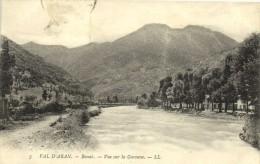 VAL D'ARAN  Bosost Vue Sur La Garonne  Recto Verso - Lérida