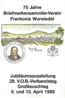 75 JAHRE BRIEFMARKENSAMMLER-VEREINE, Frankonia Wunsiedel - Collections