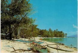 Océanie - Moorea Village Des Pêcheurs (! VOIR ETAT) - Polynésie Française