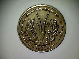 Afrique De L´Ouest 5 Francs 1978 - Monnaies