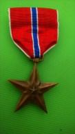 WW2 Médaille BRONZE STAR  -  US Army 41-45 - Estados Unidos